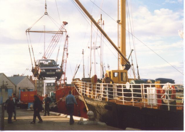 Unloading The Orcadia