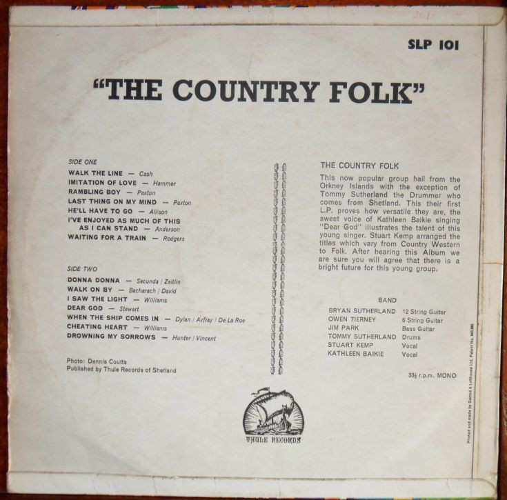 Back of The Country Folk
