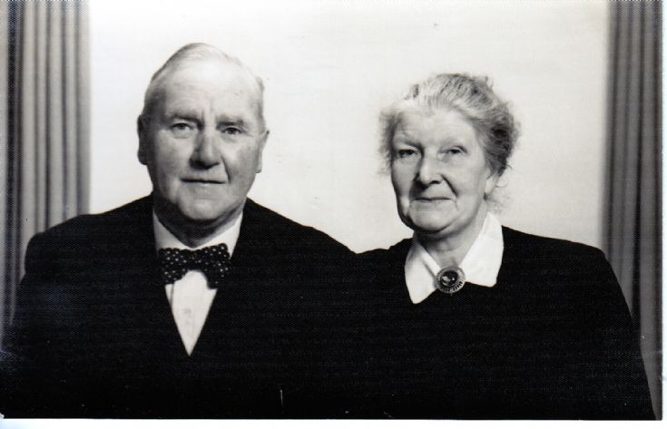 Willie and Sarah Costie  ca. 1960