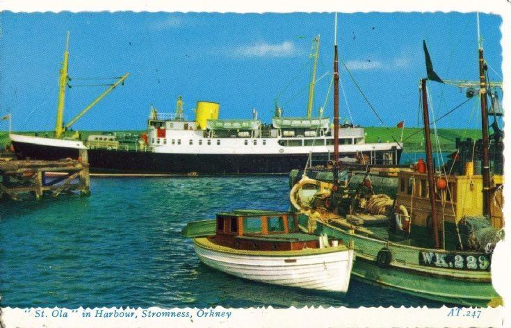 Stromness harbour 1969