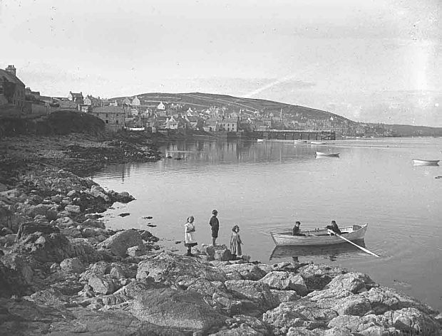 Rowing at Stromness