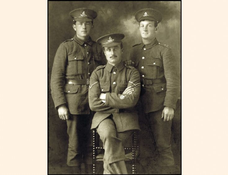 Orcadian soldiers