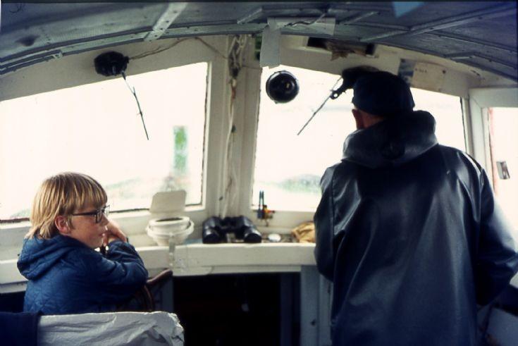 Mystery boatman