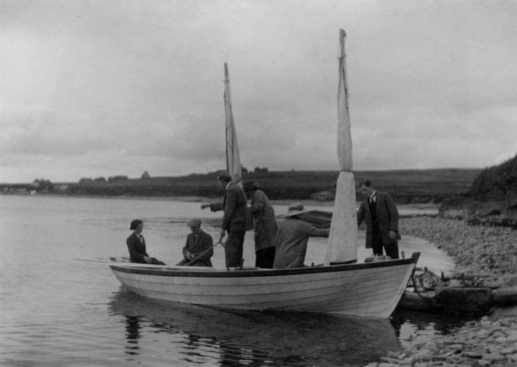 Hay family land at Kirk Noost, Flotta