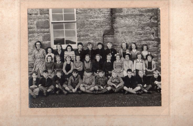Pierowall School, Westray, 1953