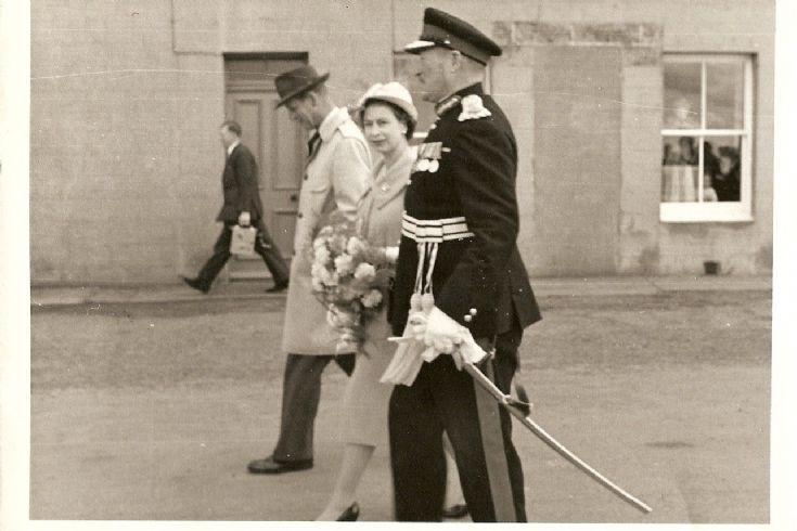 The royal visit 1960