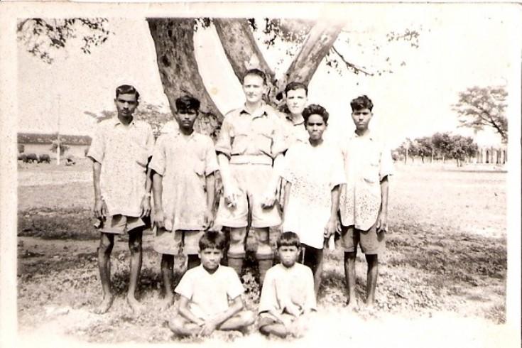 Eddie Peace in India, 1942