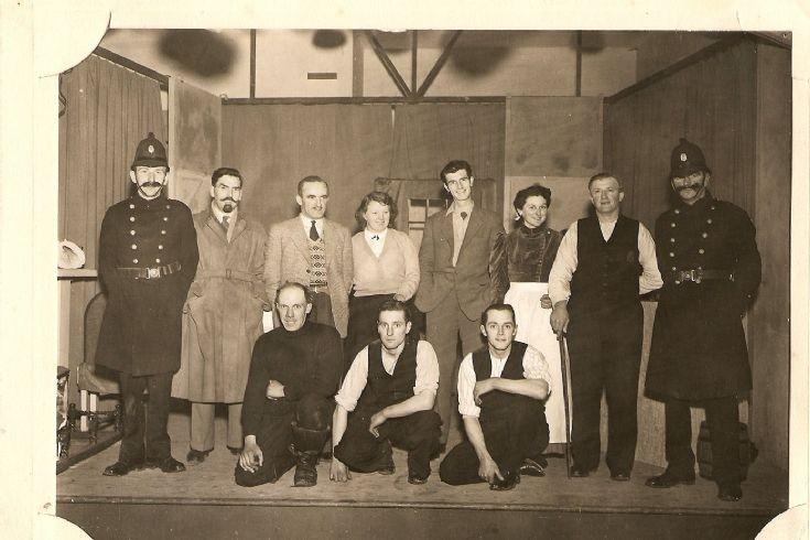 Stronsay Drama Club 1955
