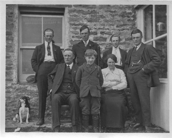 Mystery Orkney family