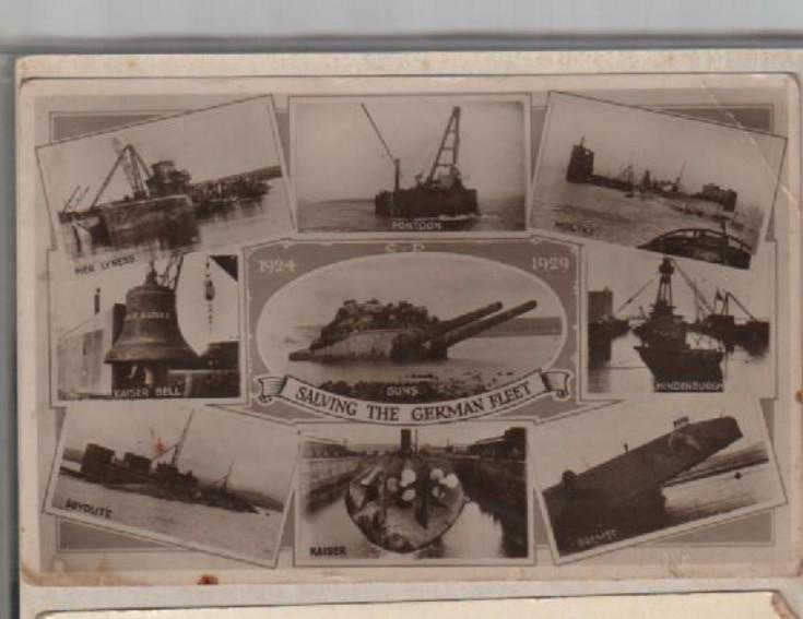 Salving the German Fleet