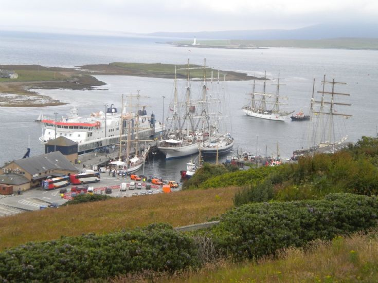Tall Ships at Stromness