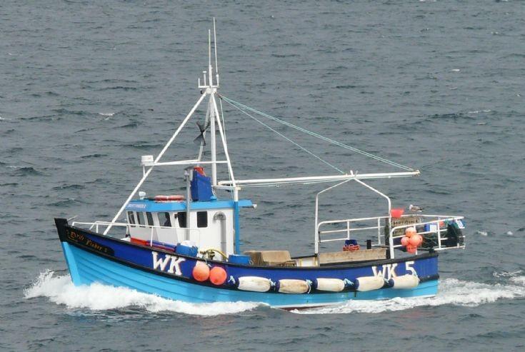 Drift Fisher II off Rerwick