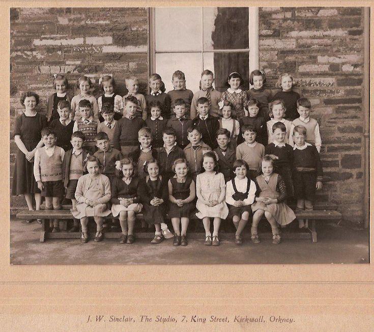 Taken at Kirkwall Grammar School