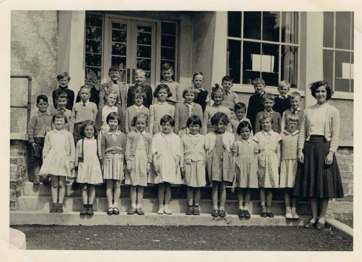 Papdale Primary 1955 or 1956