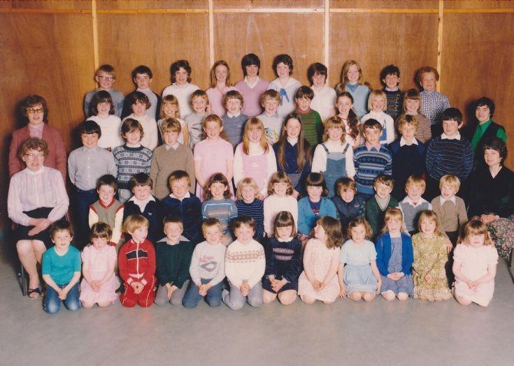 Orphir Primary School in the mid 80s