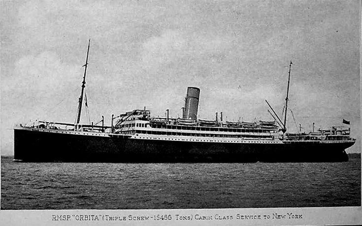 Troopship SS Orbita