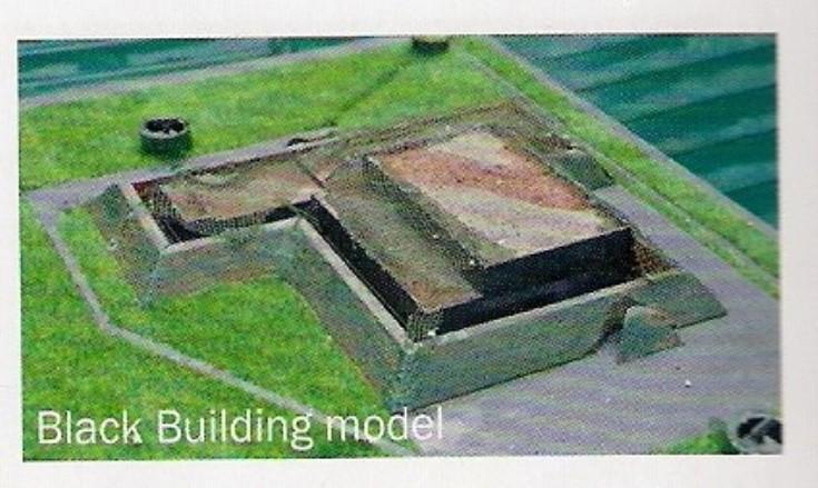 Black Building model