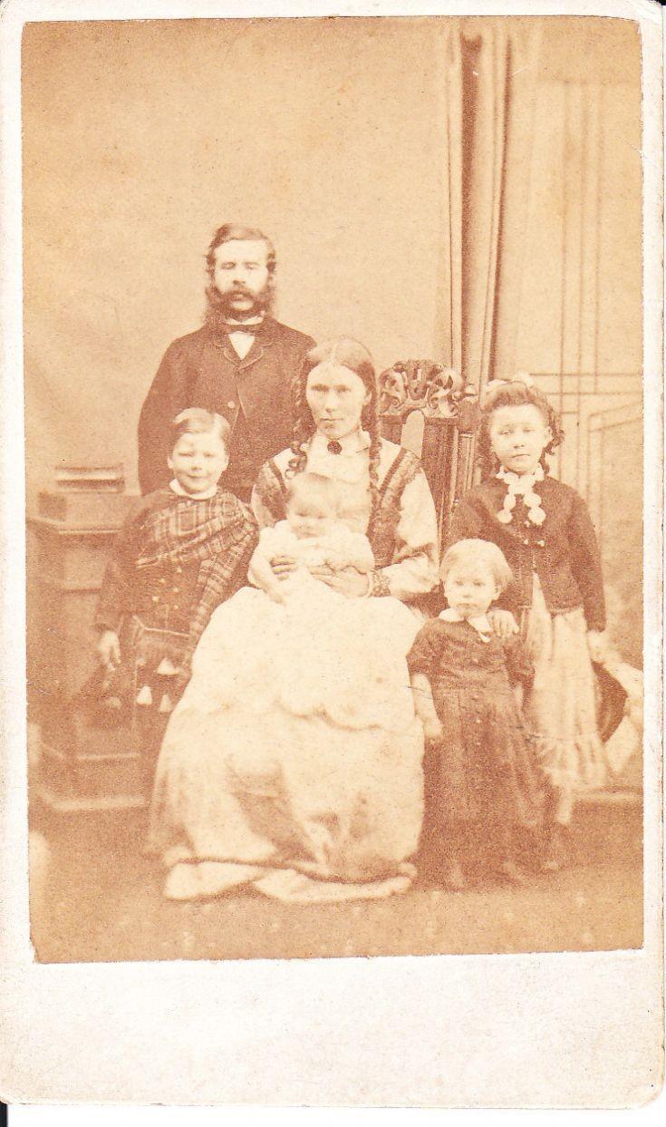 Bruce family 1871