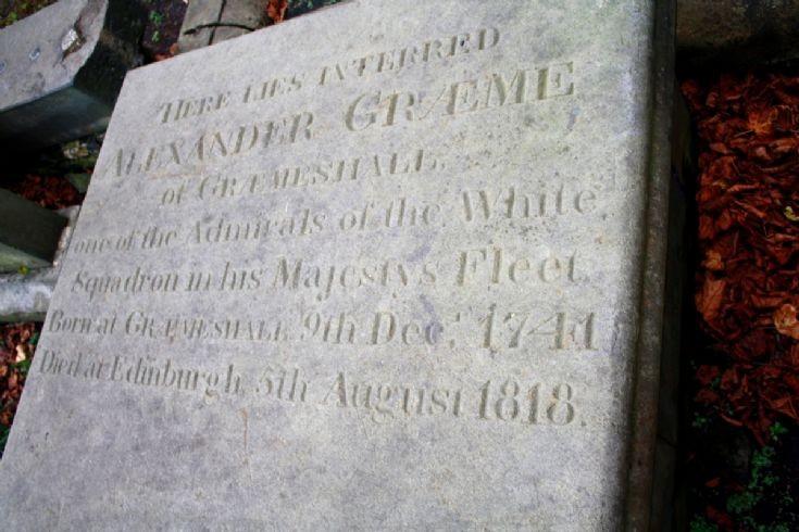 Admiral Alexander Graeme of Graemeshall 1741-1818