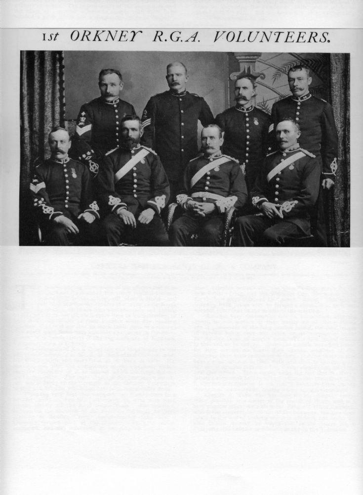 1st Orkney RGA Volunteers