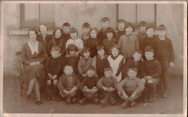 Flotta School 1940s