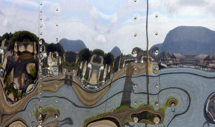 Stromness reflection