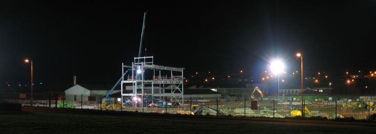 KGS site by night