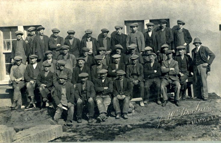 Orkney workforce group 1910 approx