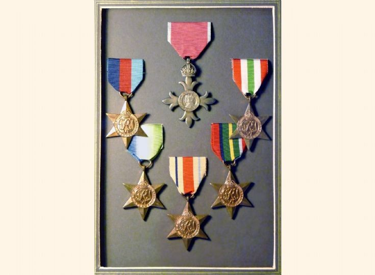 World War II medals of Capt Charlie Smith