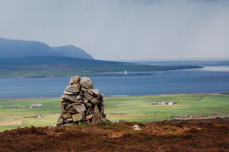Cairn on Gruf Hill