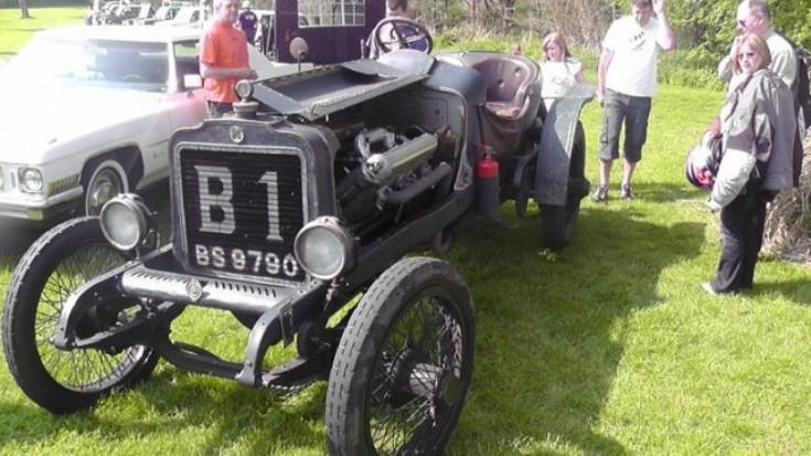 BS9790 sports car