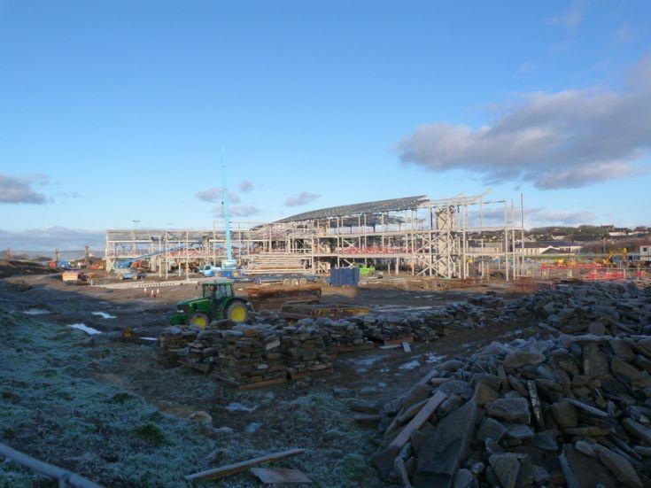 New KGS under construction