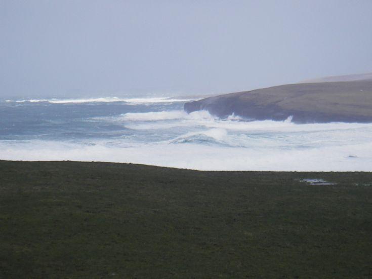 A bit of swell at Eynhallow