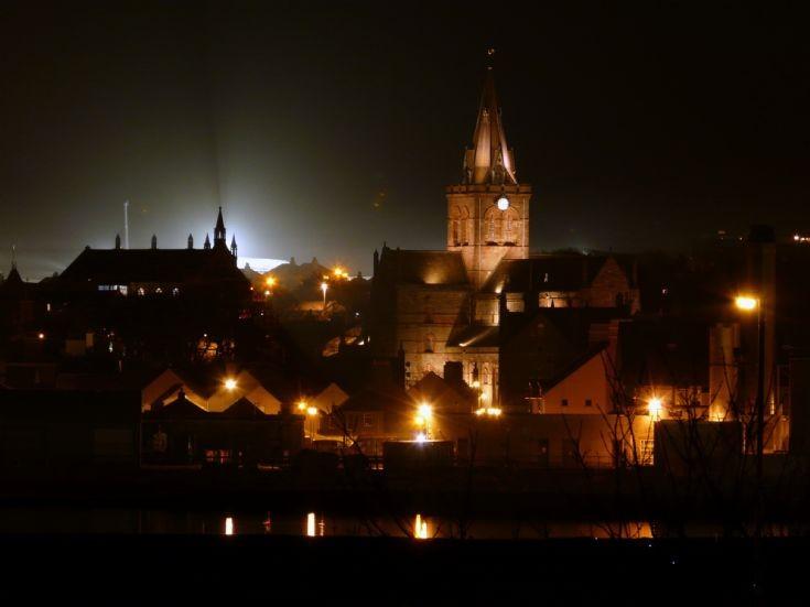 Kirkwall at night