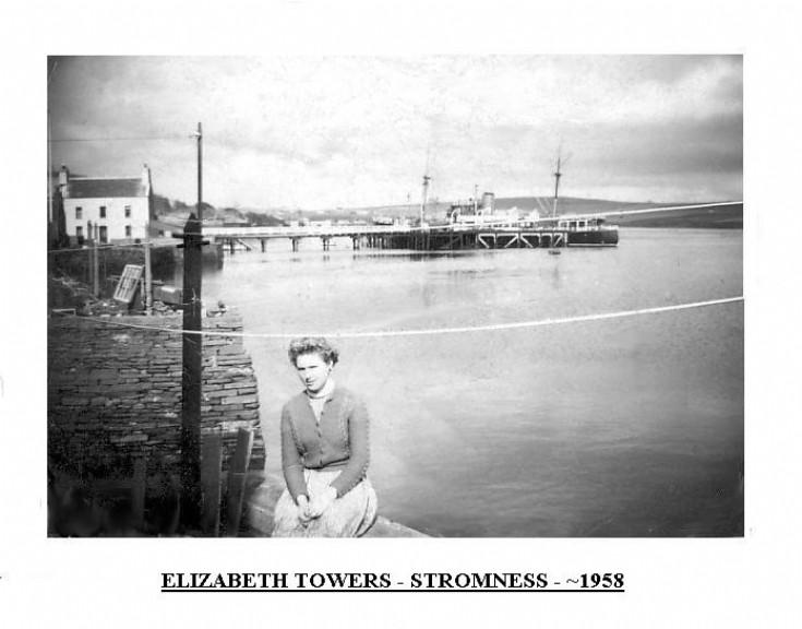 Elizabeth Towers, Stromness 1958