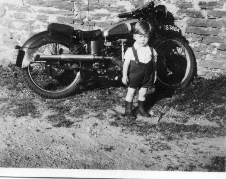 Rudge motorbike