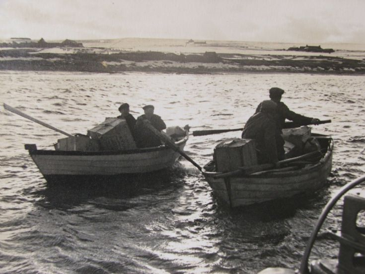 1955  Stromness Lifeboat Mercy Trip to Skaill