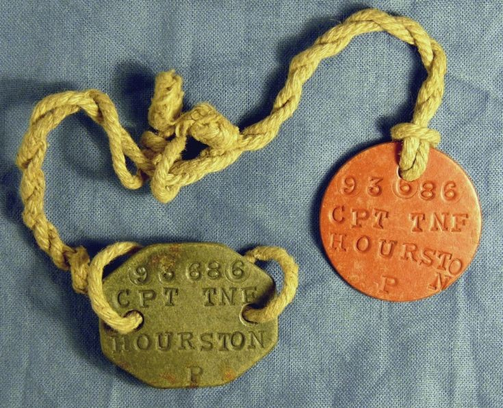 WW1 army 'dog-tags'