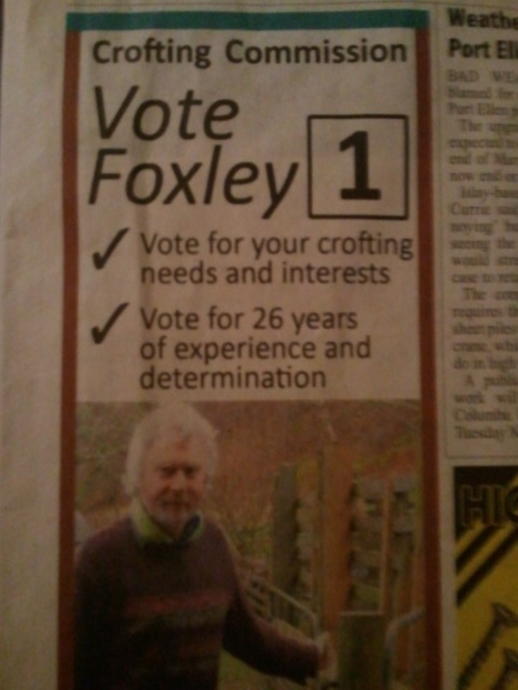 Vote Foxley
