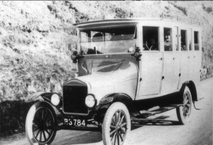 Model T Ford BS784
