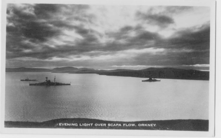 Evening light over Scapa Flow