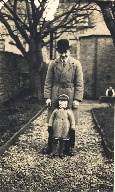 Sheila Braggins with George Stuart