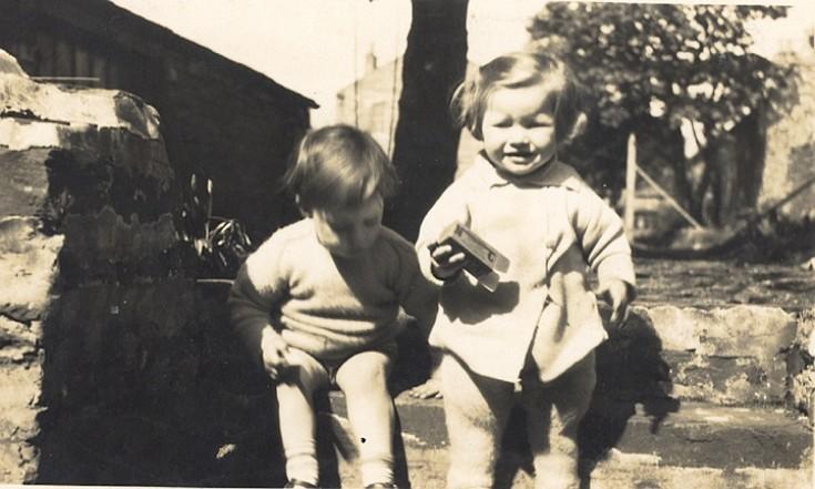 Evan McGillivray and Sheila Stuart