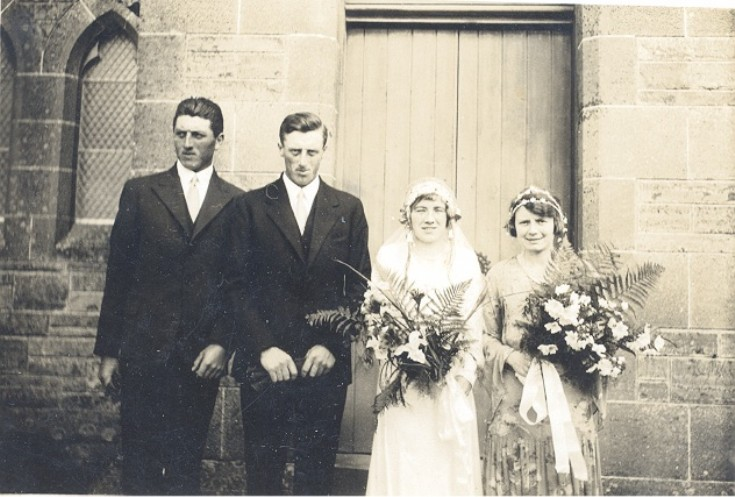 The wedding of Jimmy and Isabel Sinclair