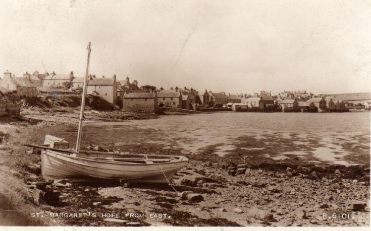 Shore at St Margaret's Hope