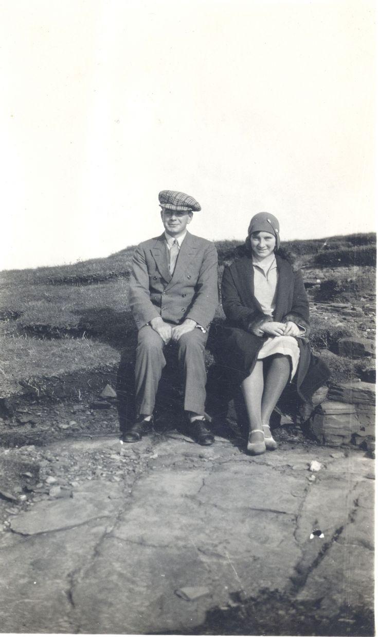 Bill Sinclair and Edith Stuart