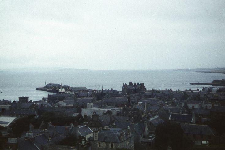Kirkwall harbour, looking north
