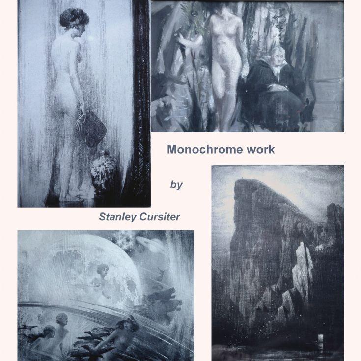 Monochrome work by Stanley Cursiter