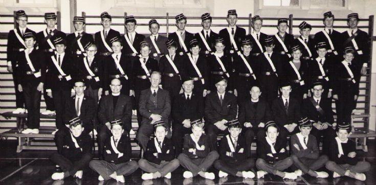 STROMNESSS BOYS BRIGADE circa 1965