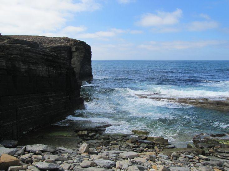 Birsay shoreline